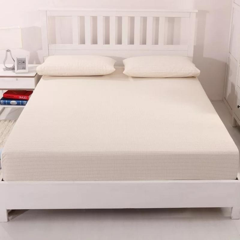 Earthing sheet in beige color.