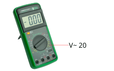 Multi-meter testing grounding product.