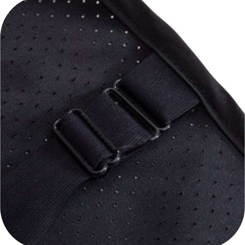 Earthing bed mat straps.